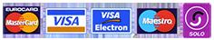 Redruth Credit Card Logos