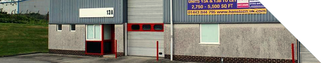 A picture of a Cornish industrial unit.